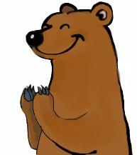 Bear applauding